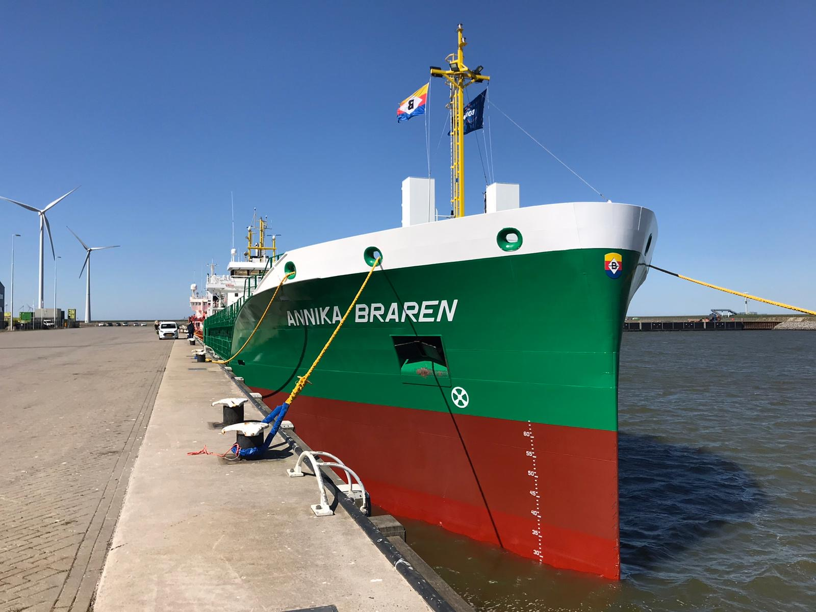 Addition to our fleet: mv Annika Braren