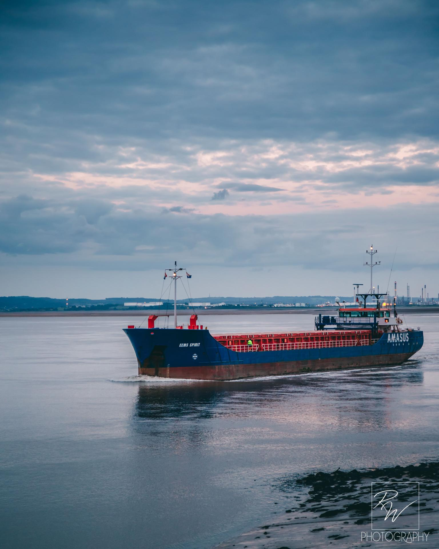 mv Eems Spirit spotted on Mersey