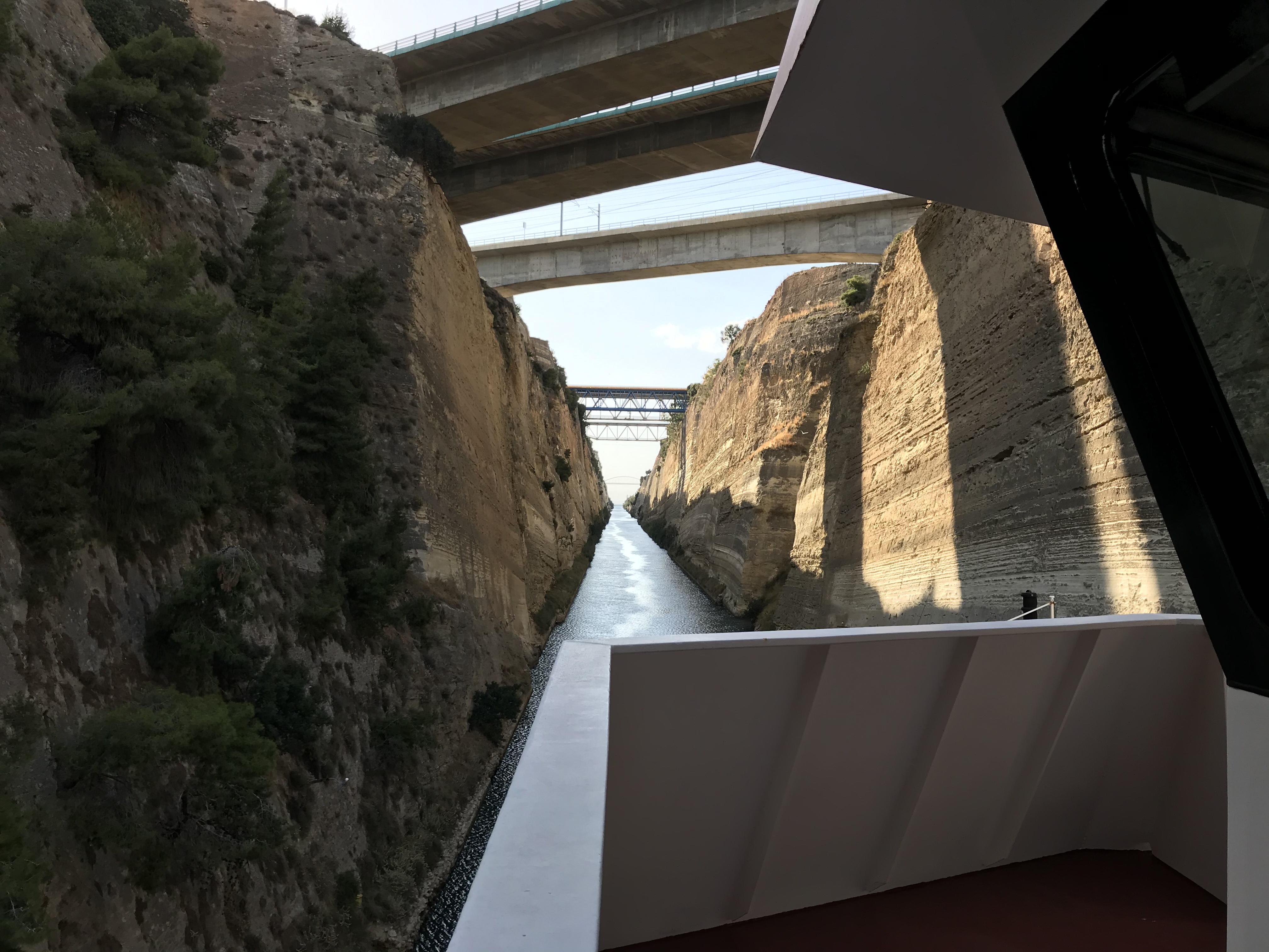 Eemslift Hendrika at Corinth Canal