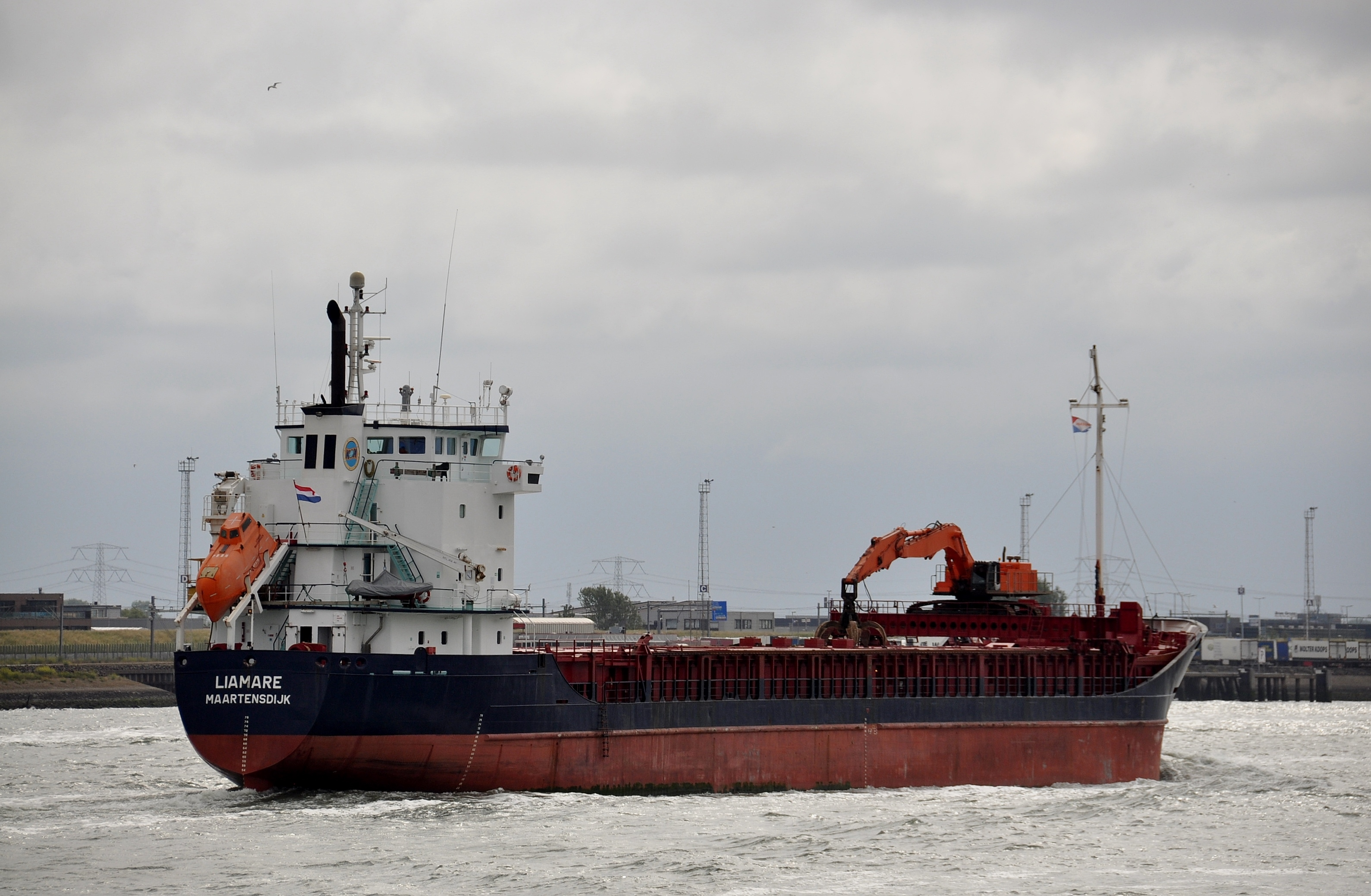 mv Liamare underway to Norway