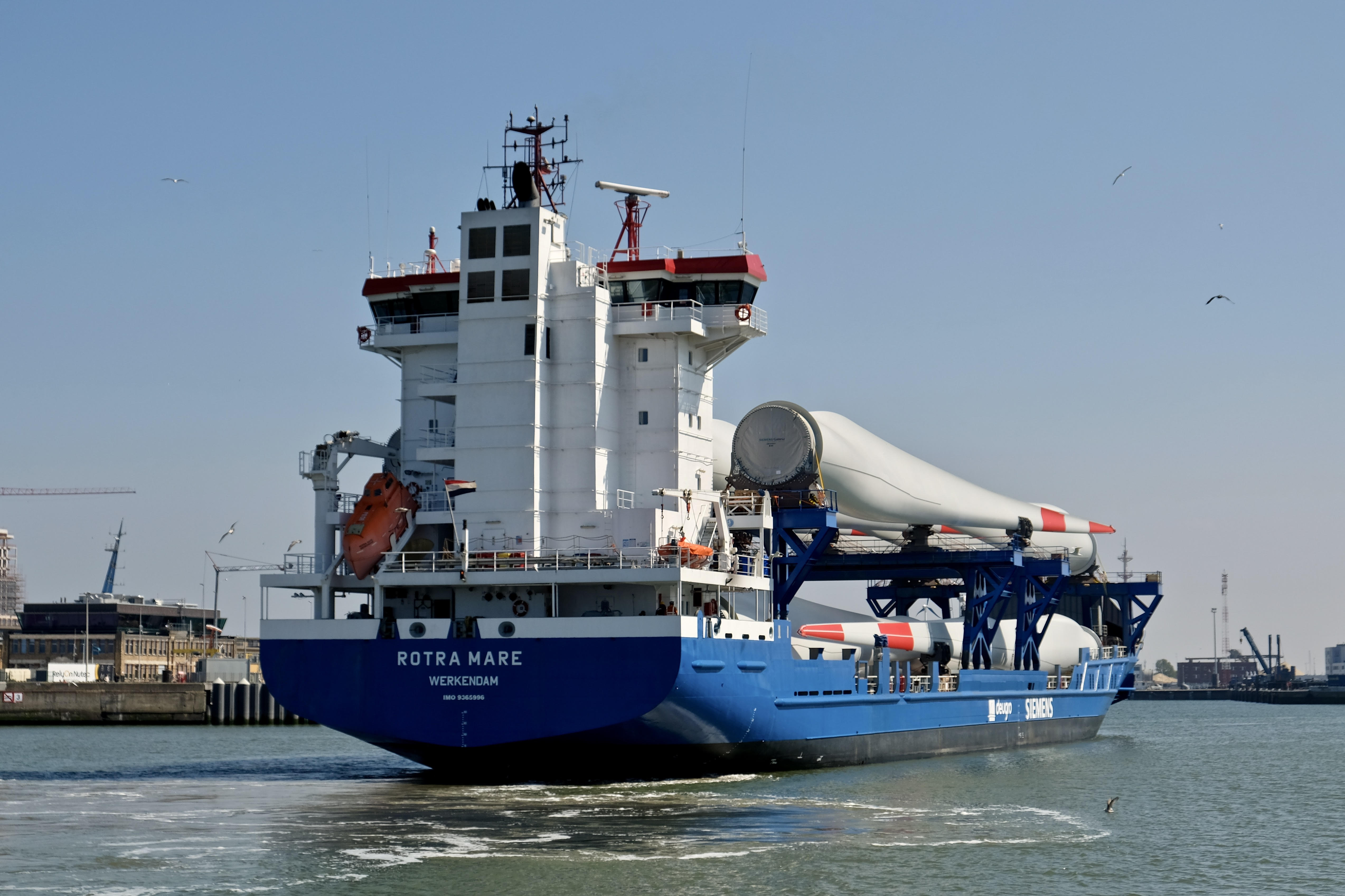 mv Rotra Mare first trip after upgrade